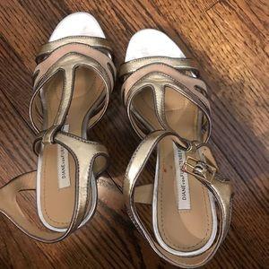 Diane Von Furstenberg Open-Toed Heels! Size 6!